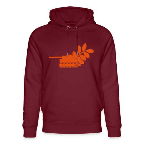 Global Campaign on Military Spending Logo v2 - Unisex Organic Hoodie by Stanley & Stella