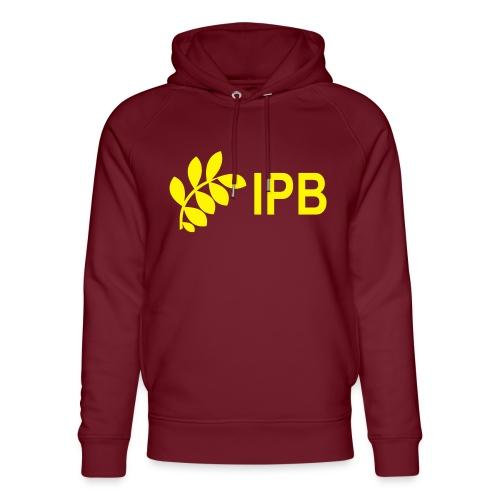 International Peace Bureau IPB version 4 - Unisex Organic Hoodie by Stanley & Stella