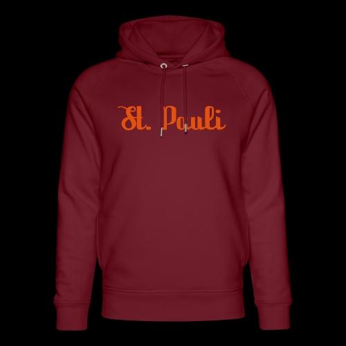 St. Pauli Logotype - Unisex Bio-Hoodie von Stanley & Stella