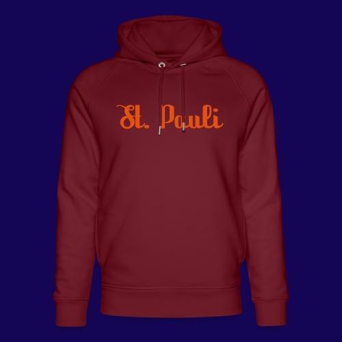 St. Pauli Logotype: Dein Kieztour Begleiter - Unisex Bio-Hoodie von Stanley & Stella