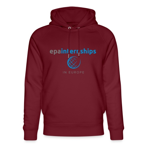 EPA Shirt Grey - Unisex Organic Hoodie by Stanley & Stella