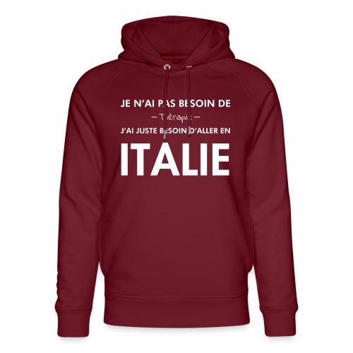L'Italie est ma thérapie - Sweat à capuche bio Stanley & Stella unisexe