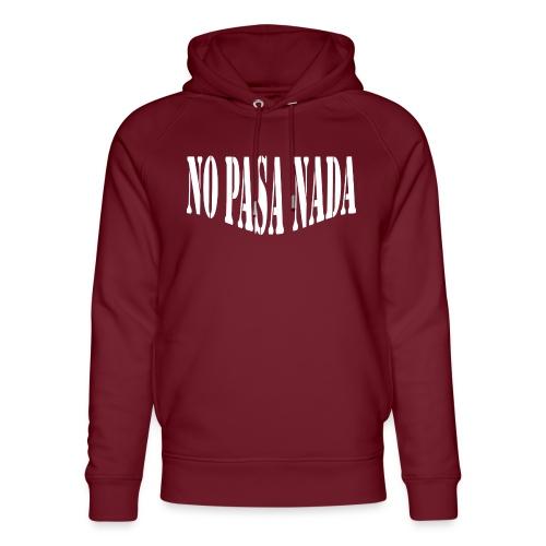 scritta per maglione png BIANCO - Felpa con cappuccio ecologica unisex di Stanley & Stella