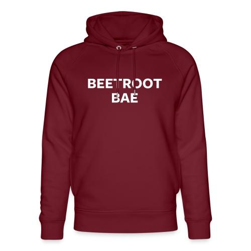 Beetroot Bae Night Mode - Unisex Organic Hoodie by Stanley & Stella