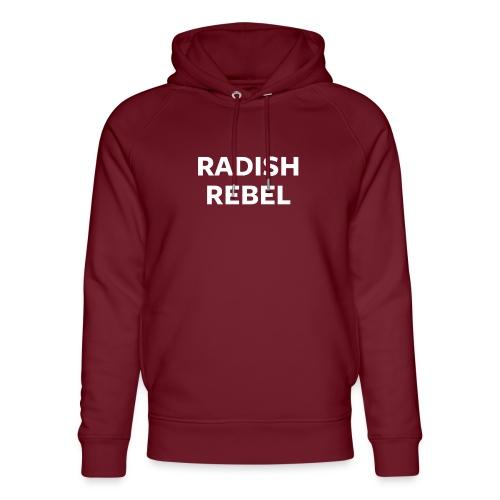 Radish Rebel Night Mode - Unisex Organic Hoodie by Stanley & Stella