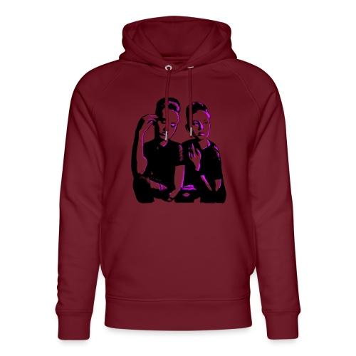 ATTITUDE<>WOKE (pink) - Stanley & Stella unisex hoodie af økologisk bomuld