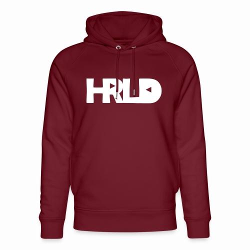 HRLD White Logo - Stanley & Stellan unisex-luomuhuppari