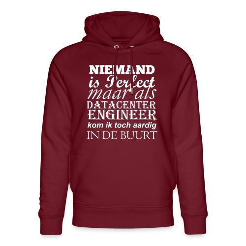 Datacenter Engineer perfect NL - Uniseks bio-hoodie van Stanley & Stella