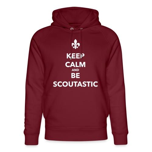 Keep calm and be scoutastic - Farbe frei wählbar - Unisex Bio-Hoodie von Stanley & Stella