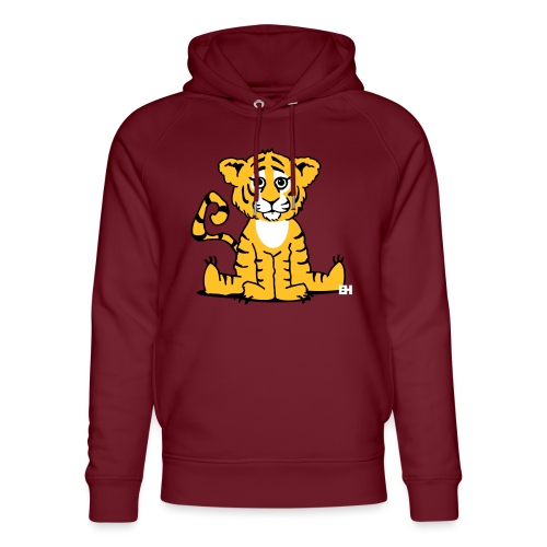 Tiger cub - Unisex Organic Hoodie by Stanley & Stella