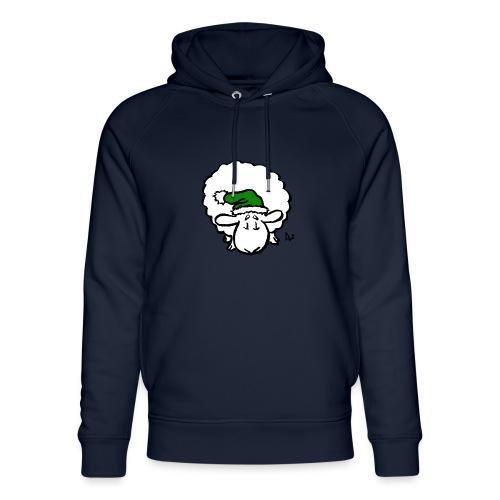 Santa Sheep (green) - Unisex økologisk hettegenser fra Stanley & Stella