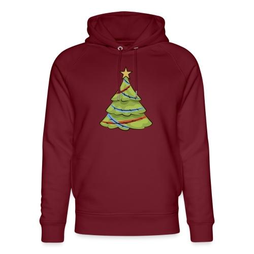 Christmas tree, tree, christmas, new year - Unisex Organic Hoodie by Stanley & Stella