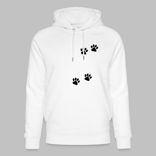 Die Mit Dem Hund Geht - Edition Colored Paw - Unisex Bio-Hoodie von Stanley & Stella