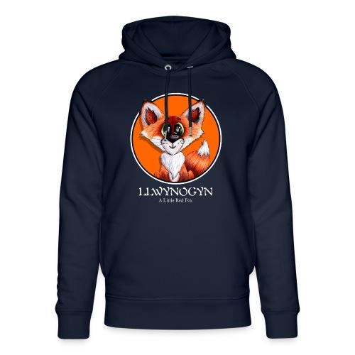 llwynogyn - a little red fox (white) - Stanley & Stellan unisex-luomuhuppari