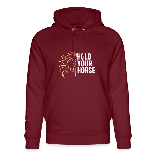 hold your horse - Unisex Bio-Hoodie von Stanley & Stella