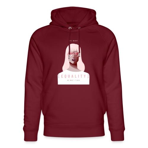 feminist t shirt design creator featuring - Sudadera con capucha ecológica unisex de Stanley & Stella
