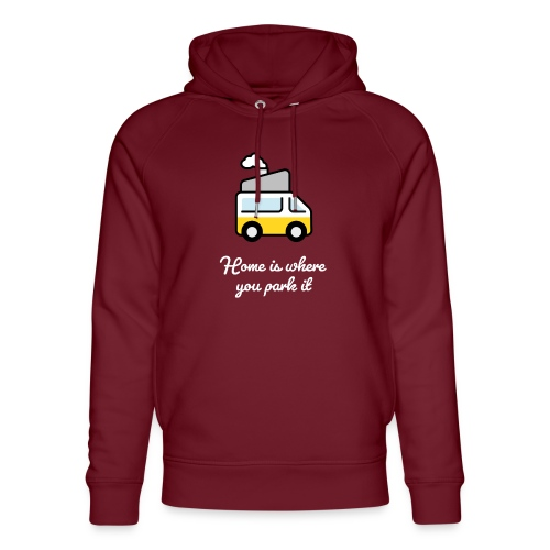 Home is where you park it - HELL - Unisex Bio-Hoodie von Stanley & Stella