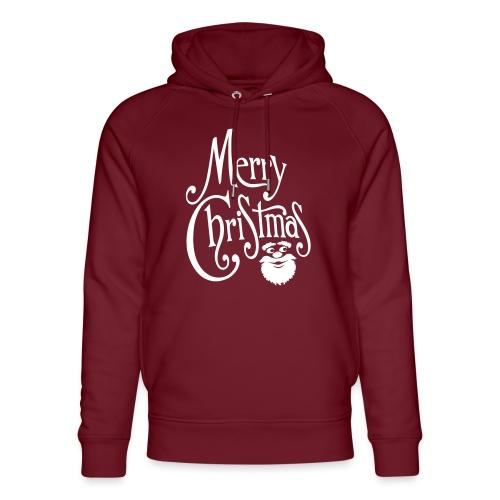 Merry Christmas - Unisex Organic Hoodie by Stanley & Stella