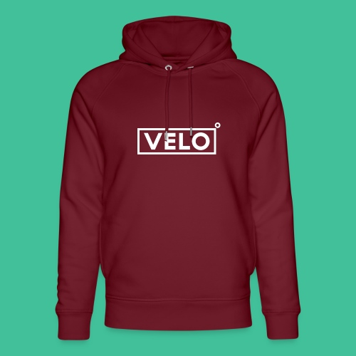 Velo Icon - Red Clr - Unisex Organic Hoodie by Stanley & Stella