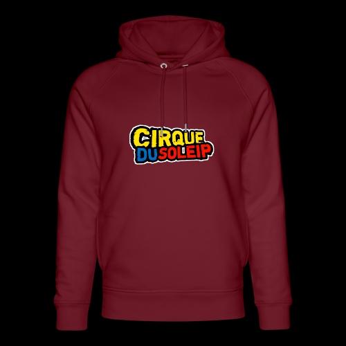 Cirque Du Soleip Letters - Uniseks bio-hoodie van Stanley & Stella