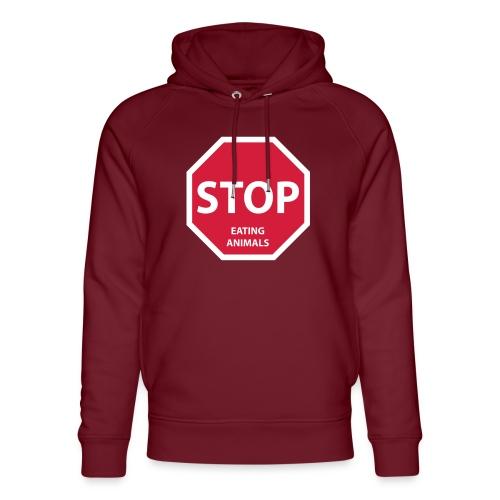 Stop-Eating-Animals - Unisex Bio-Hoodie von Stanley & Stella