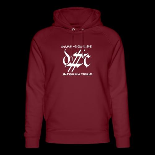 Dark-Code Gothic Logo - Sweat à capuche bio Stanley & Stella unisexe