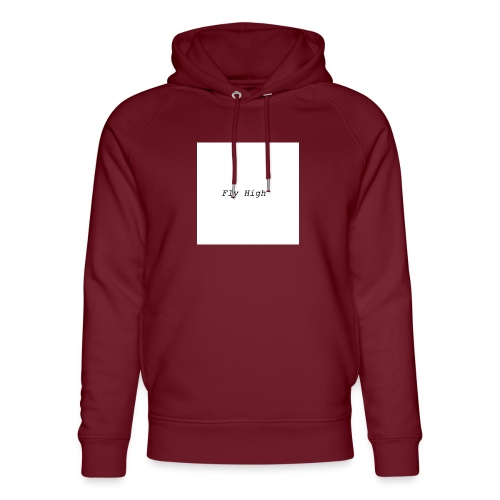 Fly High Design - Unisex Organic Hoodie by Stanley & Stella