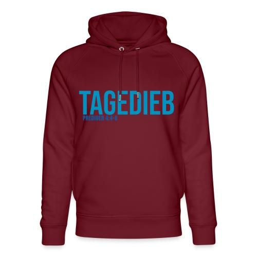 TAGEDIEB - Print in blau - Unisex Bio-Hoodie von Stanley & Stella