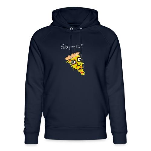 spaghetti (witte tekst) - Uniseks bio-hoodie van Stanley & Stella
