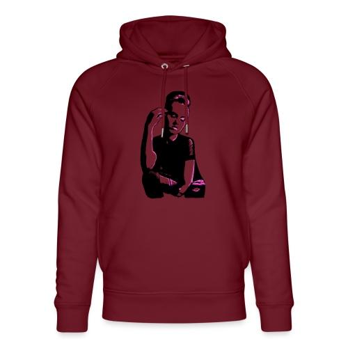 ATTITUDE (pink) - Stanley & Stella unisex hoodie af økologisk bomuld