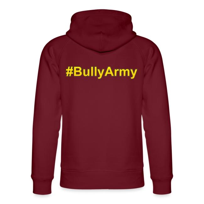 Logo mit #BullyArmy am Rücken
