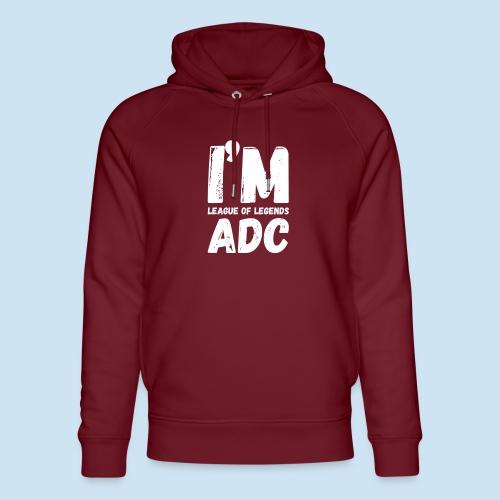 I'm ADC main - Unisex økologisk hettegenser fra Stanley & Stella