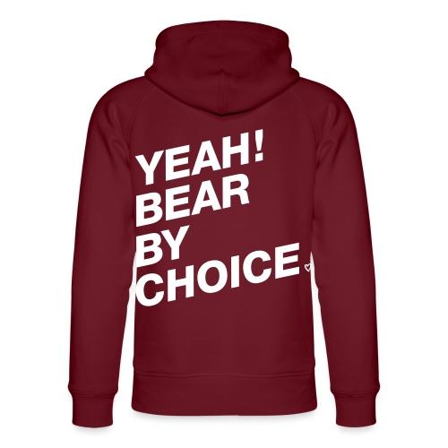 Yeah Bear by Choice - Unisex Bio-Hoodie von Stanley & Stella