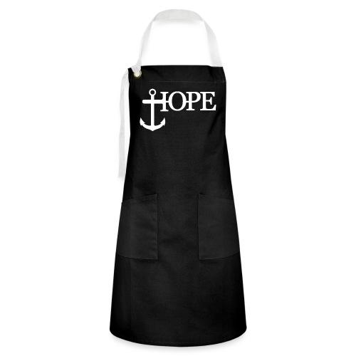 Hope Anker Anchor Hoffnung - Kontrastschürze