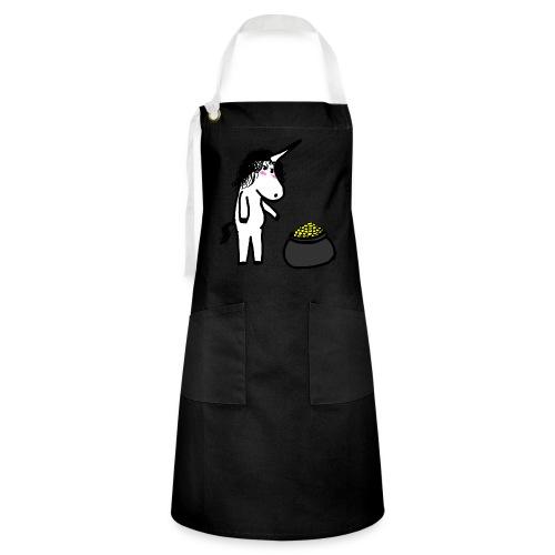 Oro unicorno - Grembiule artista
