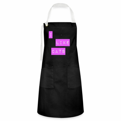 I like cats - Artisan Apron