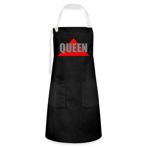 Queen, by SBDesigns - Tablier contrasté