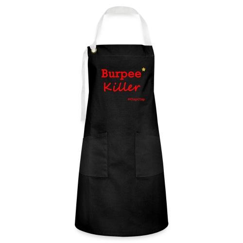 Burpee Killer Stern - Kontrastschürze