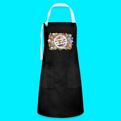 maglia logo doodle - Grembiule artista
