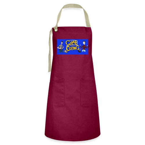 Game Coping Happy Banner - Artisan Apron