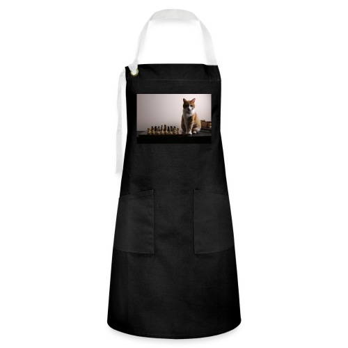 Charlie and his chess board - Artisan Apron