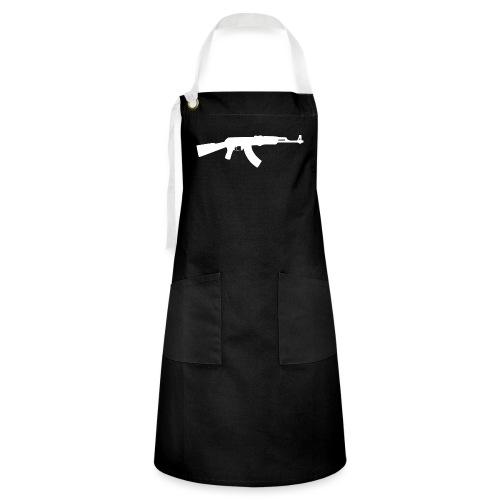 AK-47 - Kontrastivärinen esiliina