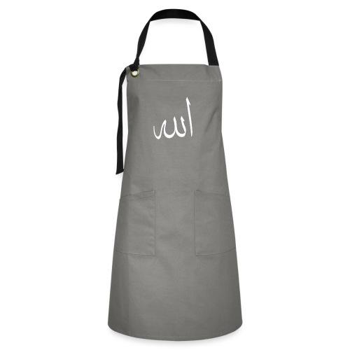 Allah - Tablier contrasté