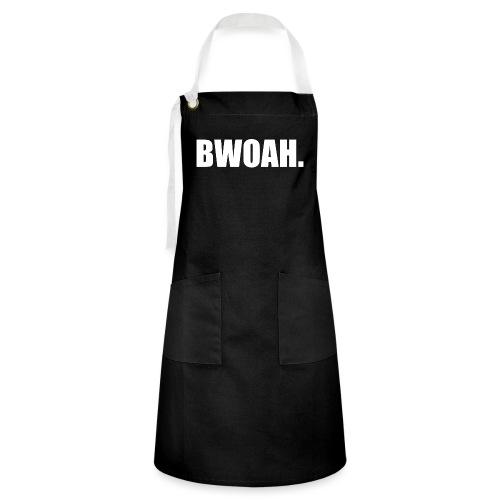 Bwoah - Kontrastivärinen esiliina