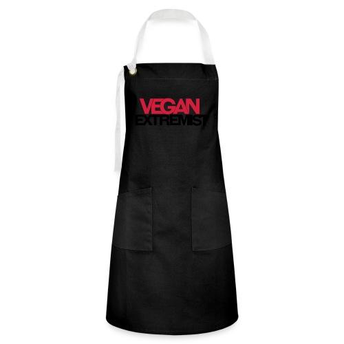 Vegan Extremist - Tablier contrasté
