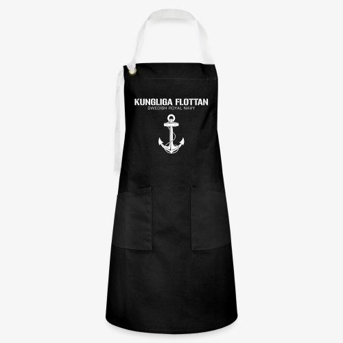 Kungliga Flottan - Swedish Royal Navy - ankare - Kontrastförkläde