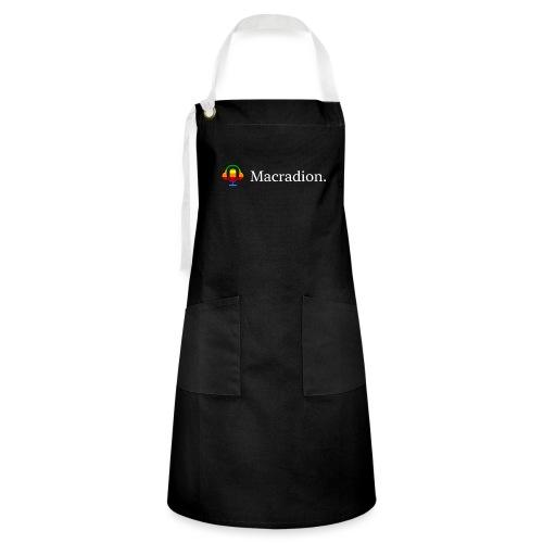 Macradion - Kontrastförkläde