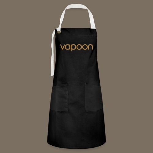 Vapoon Logo simpel 01 - Kontrastschürze