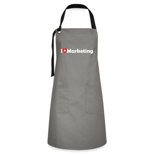 I love marketing - Tablier contrasté