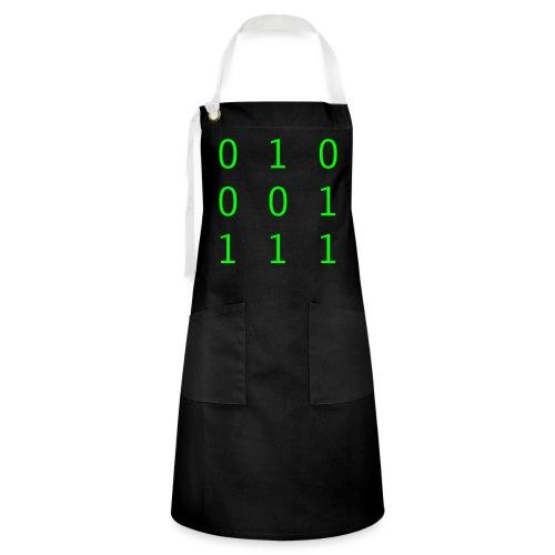 Hacker Emblem - Artisan Apron